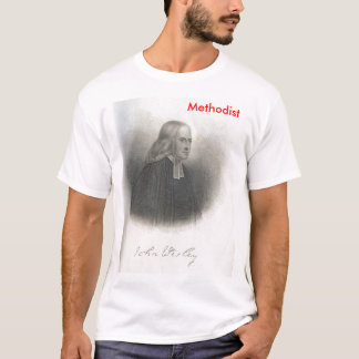 John Wesley Methodist Tee shirt