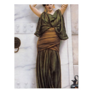 John William Godward- Ianthe Postcard