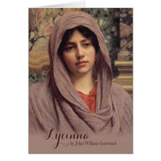 John William Godward Lycinna CC0885 Beautiful Art Card