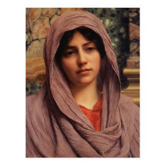 John William Godward- Lycinna Postcard