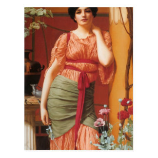 John William Godward - Nerissa Postcard