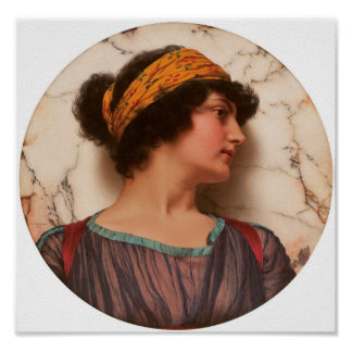 John William Godward, R.B.A. 1861-1922 ANDROCLÉA Poster