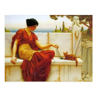 John William Godward- The Favourite Postcard