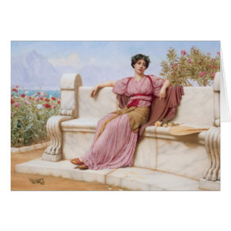 John William Godward- Tranquillity Card