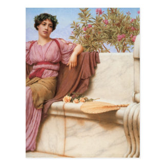 John William Godward - Tranquillity Postcard