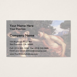 John William Waterhouse- Apollo and Daphne Business Card