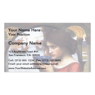 John William Waterhouse- Destiny Business Card