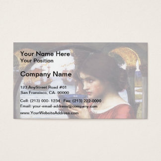 John William Waterhouse- Destiny Business Card