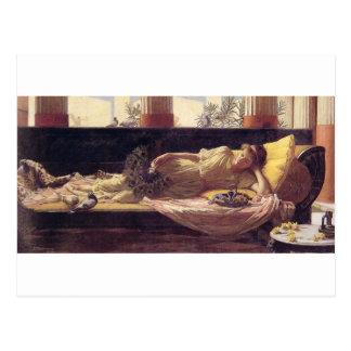 John William Waterhouse - Dolce far Niente Postcard
