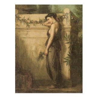 John William Waterhouse Gone But Not Forgotten Postcard
