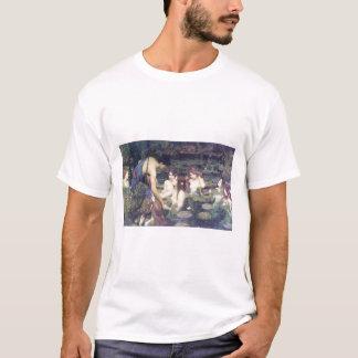 John William Waterhouse - Hylas and the Nymphs T-Shirt
