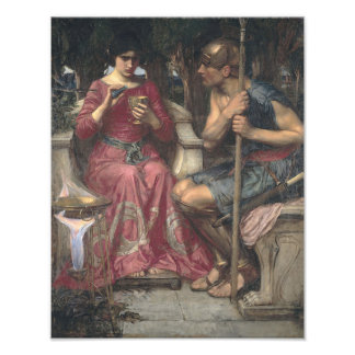"John William Waterhouse Jason and Medea"" Print"