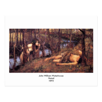 John William Waterhouse - Naiad Postcard