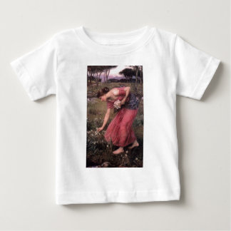 John William Waterhouse - Narcissus - Fine Art Baby T-Shirt