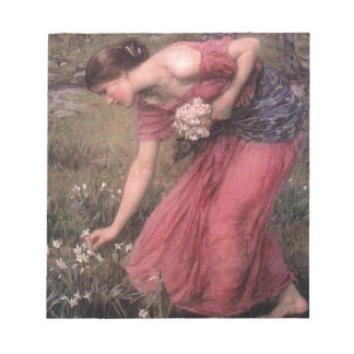 John William Waterhouse - Narcissus - Fine Art Notepad