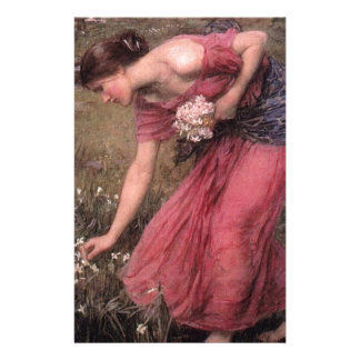 John William Waterhouse - Narcissus - Fine Art Stationery
