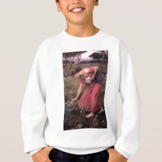 John William Waterhouse - Narcissus - Fine Art Sweatshirt