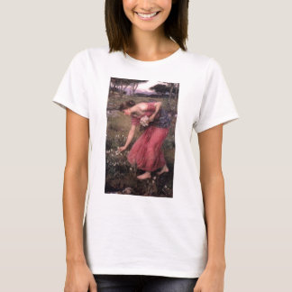 John William Waterhouse - Narcissus - Fine Art T-Shirt
