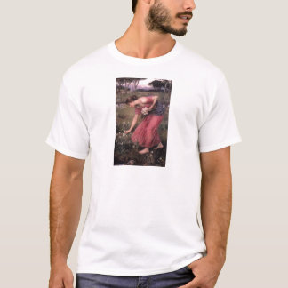 John William Waterhouse - Narcissus - Fine Art T-Shirt