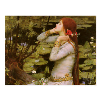 John William Waterhouse Ophelia Postcard