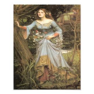 "John William Waterhouse ""Ophelia"" Print"