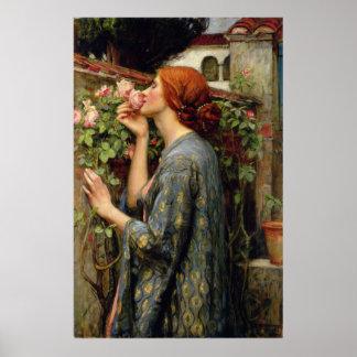 John William Waterhouse Soul of the Rose Poster