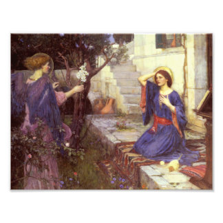 John William Waterhouse - The Annunciation Photo Print