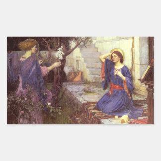 John William Waterhouse - The Annunciation Sticker