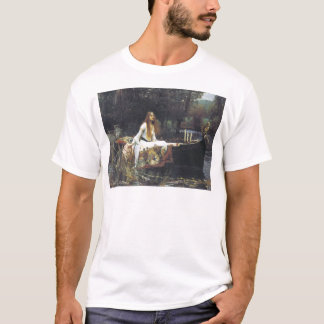 John William Waterhouse The Lady of Shallot 1888 T-Shirt