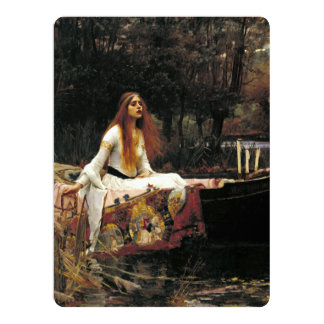 John William Waterhouse The Lady Of Shalott Card