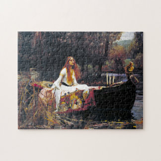 John William Waterhouse The Lady Of Shalott Jigsaw Puzzle