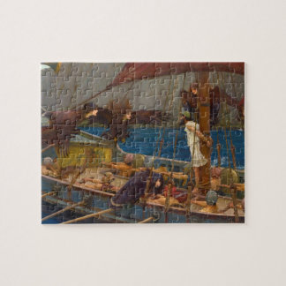 John William Waterhouse - Ulysses and the Sirens Jigsaw Puzzle
