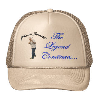 "Johnnie Bennett ""Legend"" Hat"