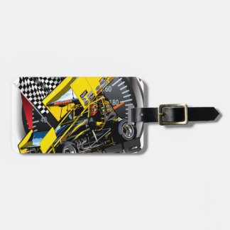 Johnny Bridges Racing Luggage Tag