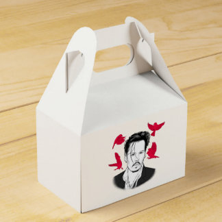 Johnny Depp Wedding Favor Box