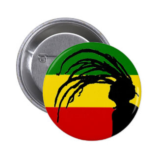 johnny fife rasta flag button