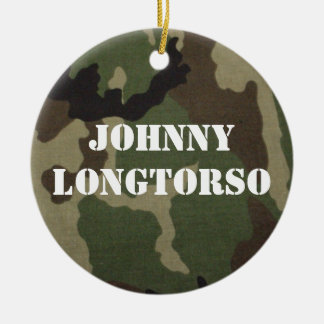 Johnny Longtorso Ceramic Ornament