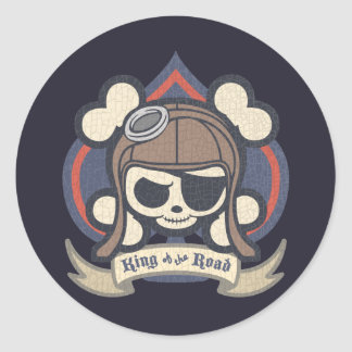 Johnny Spade Classic Round Sticker