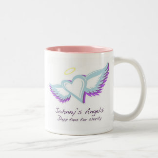 Johnny's Angels Two Tone Mug
