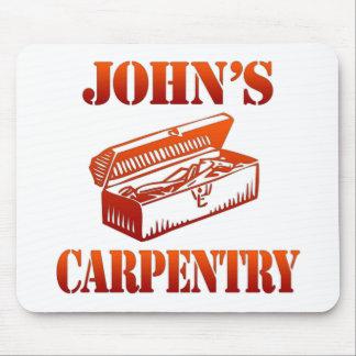 John's Carpentry Mouse Pad