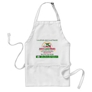 John's Custom Meats, Local Eats and Local Treats! Standard Apron