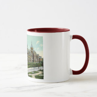Johns Hopkins Hospital, Baltimore 1910 Vintage Mug