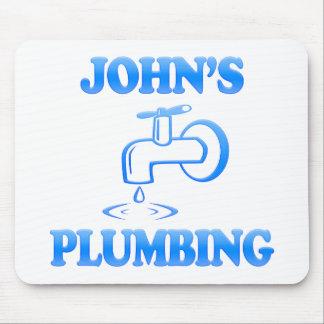 John's Plumbing Mouse Pad