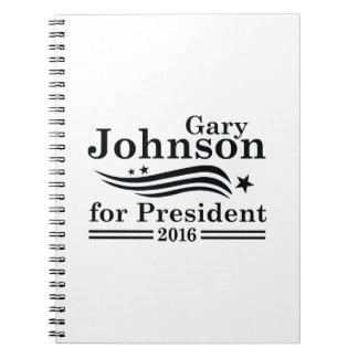 Johnson 2016 spiral notebook