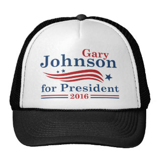 Johnson 2016 trucker hat