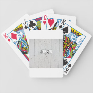 Johnson Bicycle Playing Cards