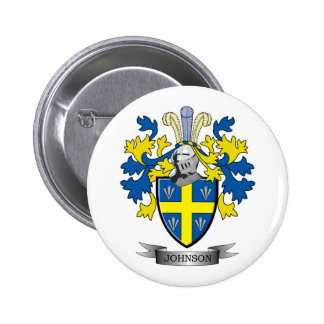 Johnson Coat of Arms 2 Inch Round Button