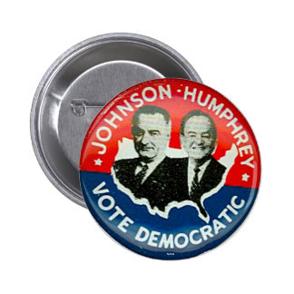 Johnson for President - Button