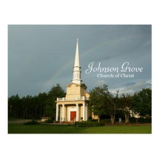 Johnson Grove COC Rainbow with Print Postcard