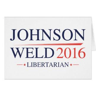 Johnson Weld 2016 Card